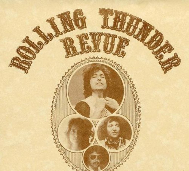 Rolling Thunder Revue tour poster
