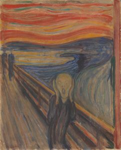 The Scream, Edvard Munch painting